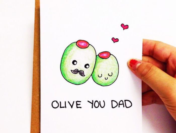 Happy Father's Day: Adorable Cards for the Foodie Dad