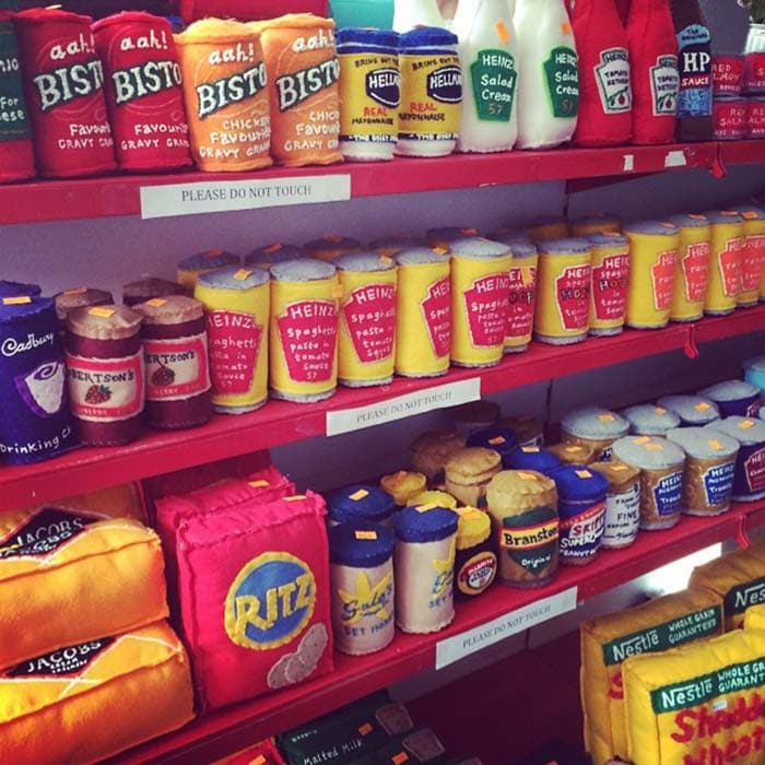 A Shop Full of Hand-Stitched Groceries That Look Sew Real!