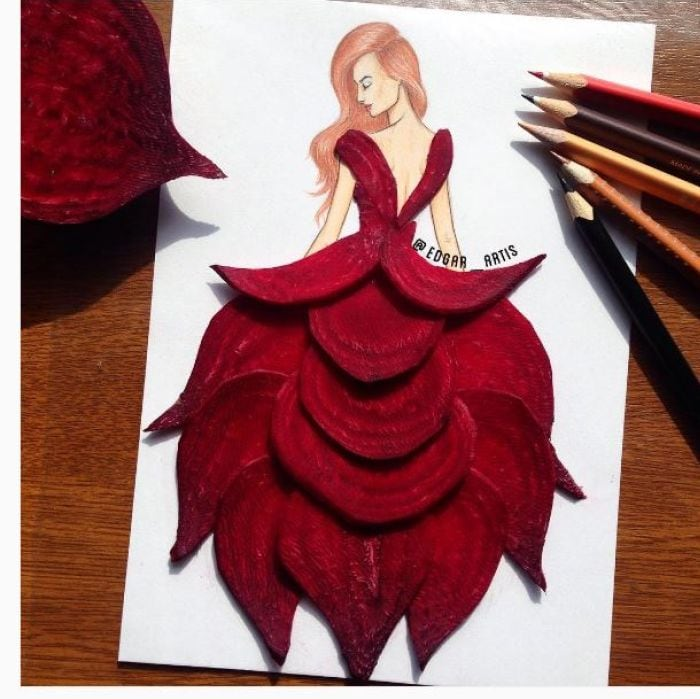 This Fashion Designer Turns Food into Dresses You Can't Stop Staring At