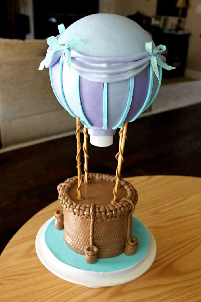 Anti Gravity Cake Topper