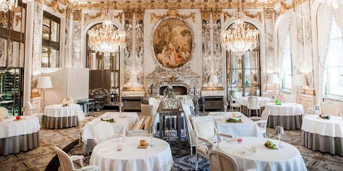 Restaurant Le Meurice, Paris