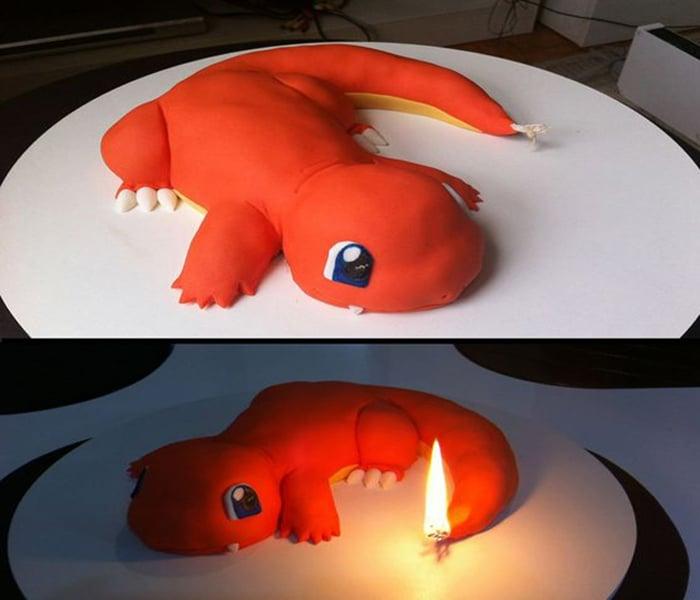 Charmander Cake Ideas