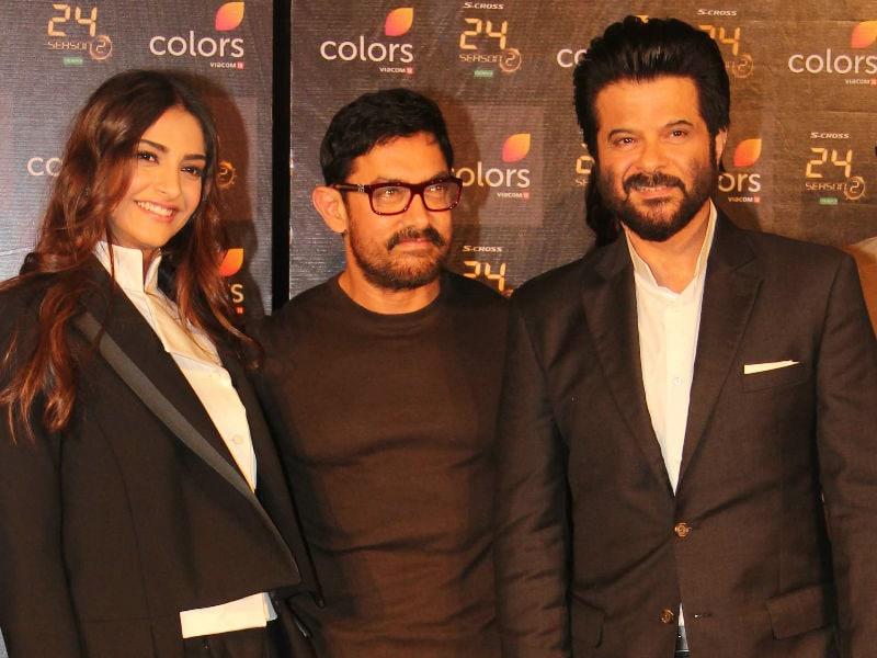 Dhina Dhin Dha: Anil Kapoor, Aamir Khan, Sonam Launch 24 Trailer