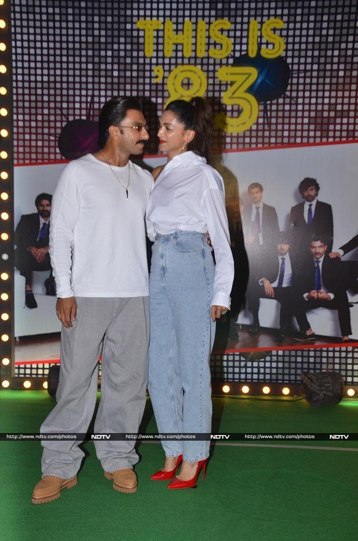 Ranveer Singh And Deepika Padukone Were At Their Goofiest Best At \'83 Party