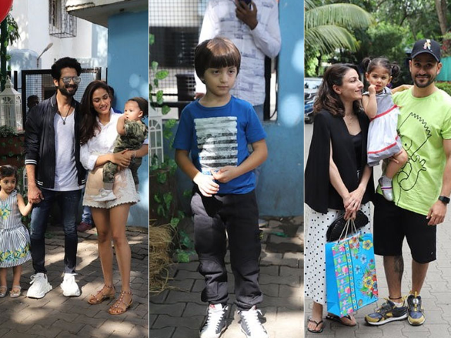AbRam And Inaaya Attend Misha's Birthday Party