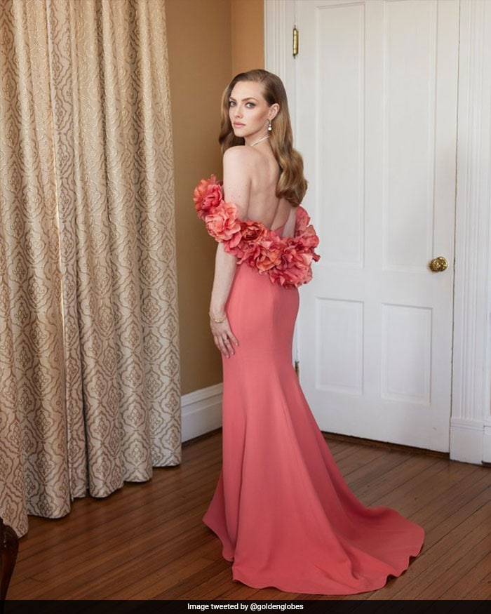 At Home But All Dressed Up For The Golden Globes
