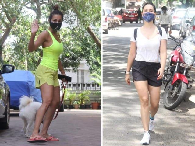 Photo : मलाइका अरोड़ा, किम शर्मा समेत इन सेलेब्स को किया गया स्पॉट