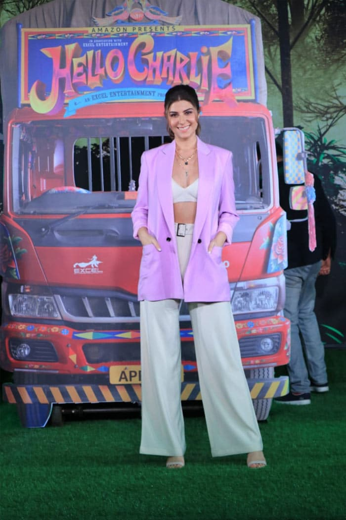 Actress Elnaaz Norouzi was looking stunning at the trailer launch event of her film.