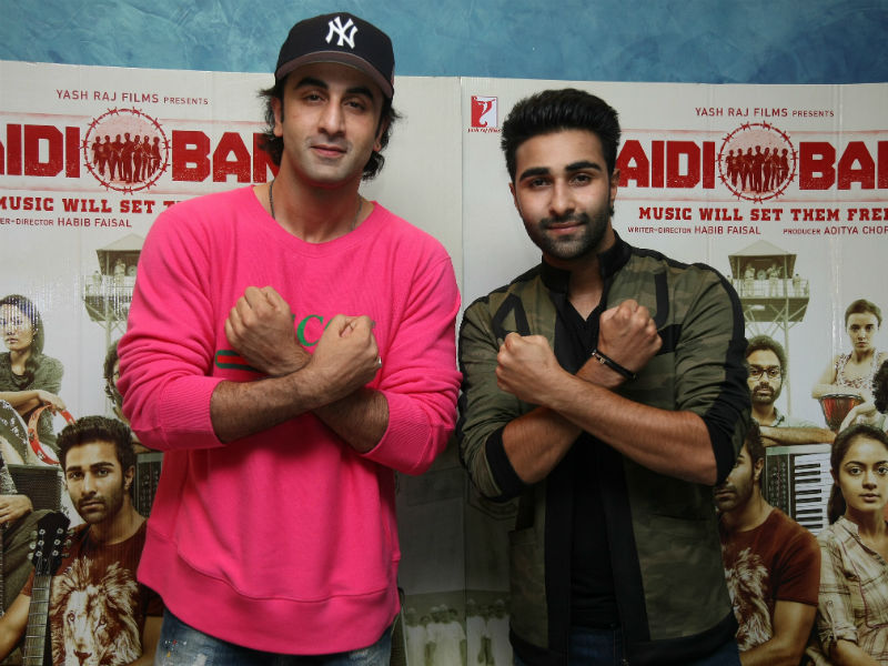 The Kapoors Cheer For Aadar Jain And Qaidi Band