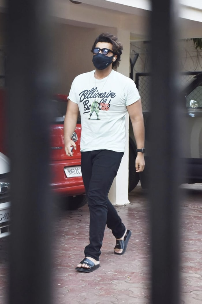In another part of the city, Arjun Kapoor was spotted in Juhu.