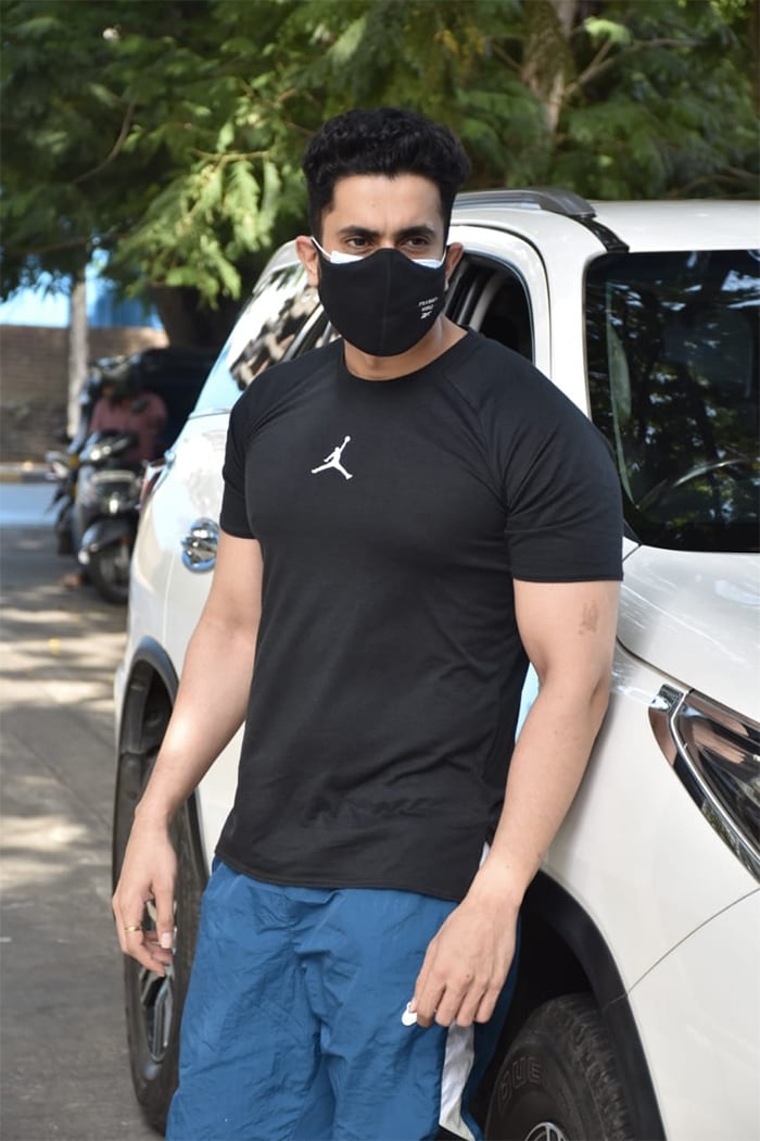 Sunny Singh was pictured in Juhu.
