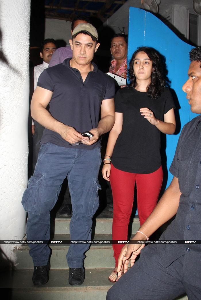 Father S Day Out Aamir Khan Dines With Daughter Ira