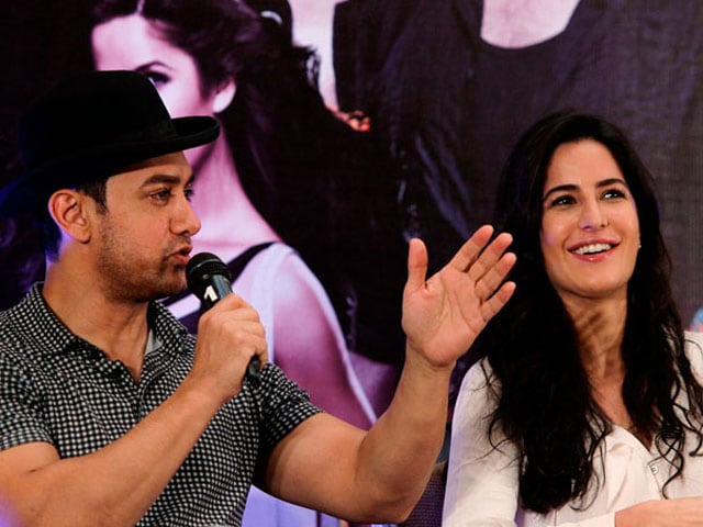 Aamir here, Katrina there, Dhoom everywhere