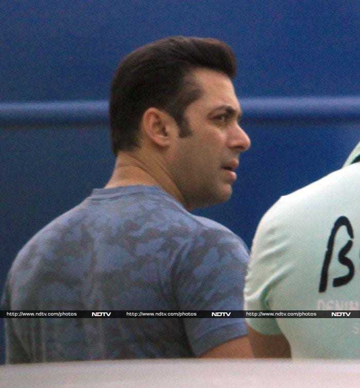 Salman Khan: Kicking Up a Storm on Sets