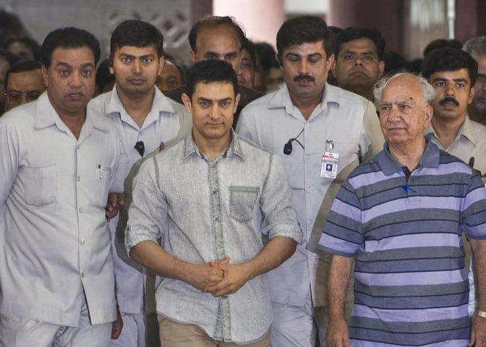 Aamir, 48, and the Temple of Dhoom