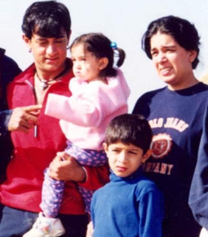 Aamir's life in pics