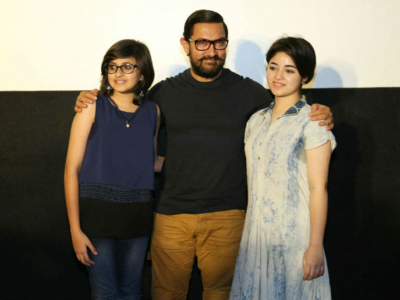 Aamir Khan And His Dangal Daughters Win Our Hearts