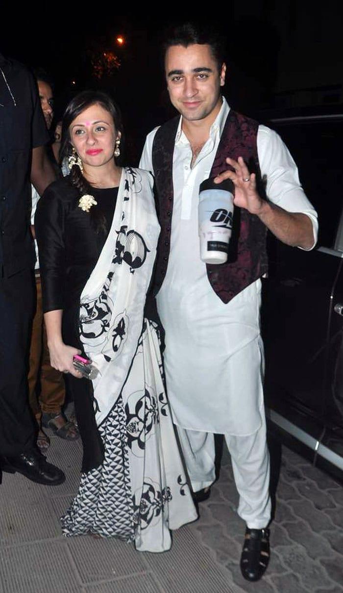 Starry starry night: Aamir\'s Diwali party
