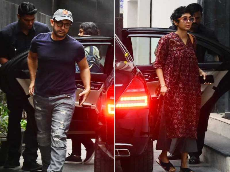 Aamir Khan and Kiran Rao's Day Out