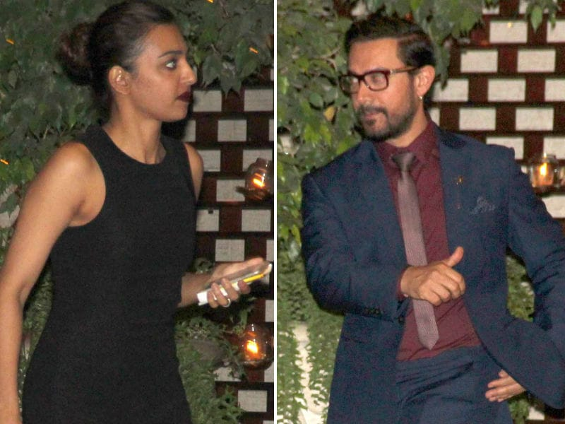 At Ambanis' Party With Aamir Khan And Radhika Apte
