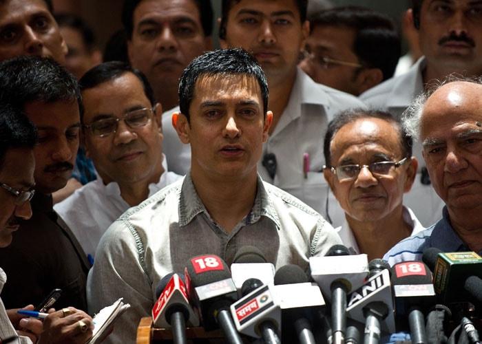 Aamir\'s Satyamev effect in Parliament