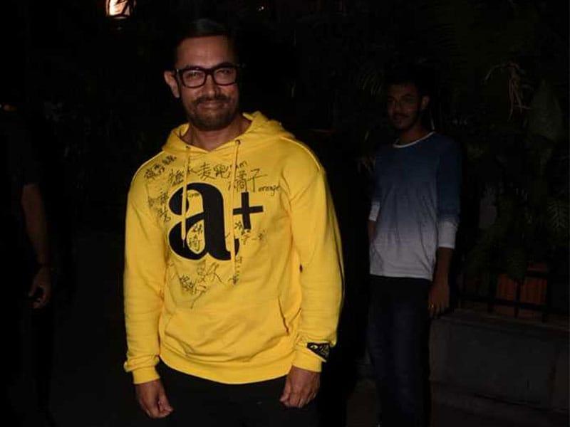 Aamir Khan And Sanya Malhotra Catch Up