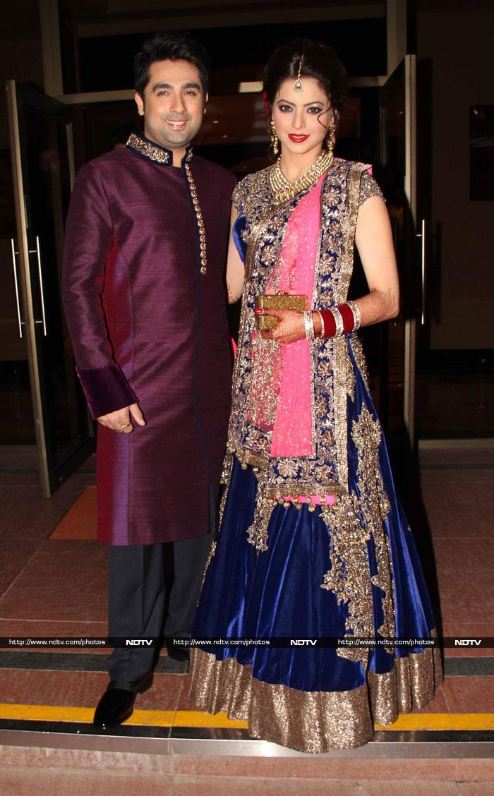 Inside Aamna Sharif\'s wedding reception