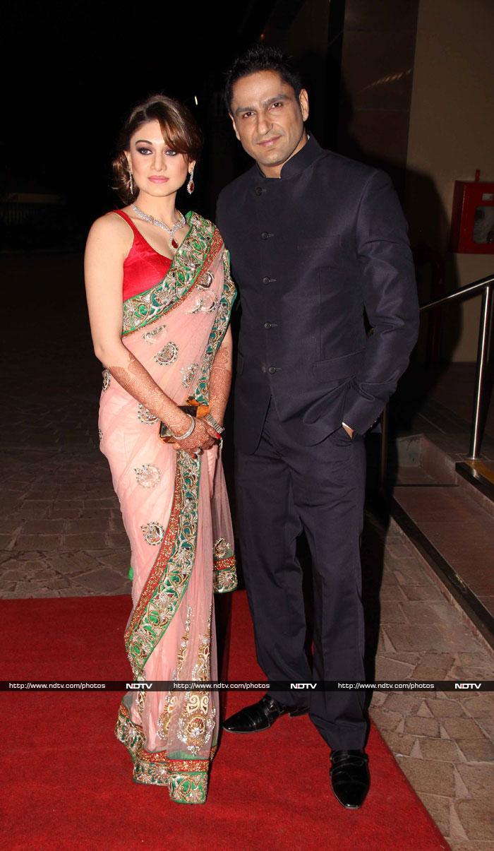 Inside Aamna Sharif\'s wedding reception