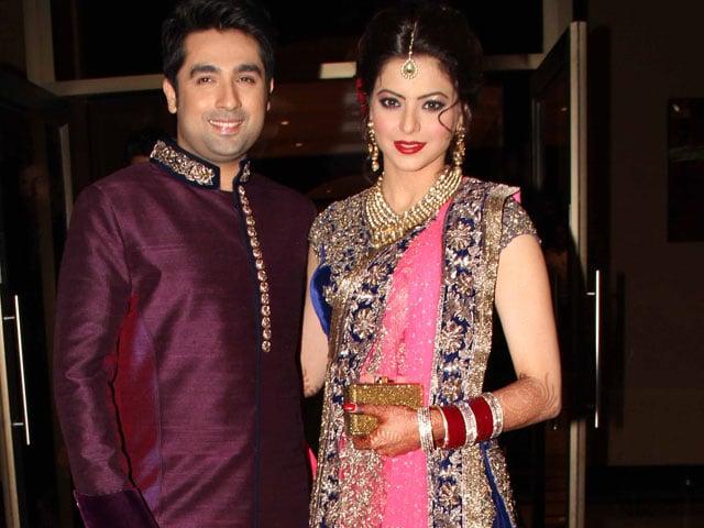 Inside Aamna Sharif's wedding reception