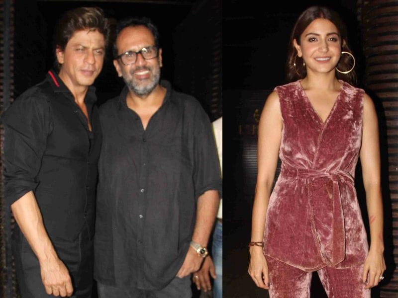 Shah Rukh Khan, Anushka Sharma's Party Updates From  Ground Zero