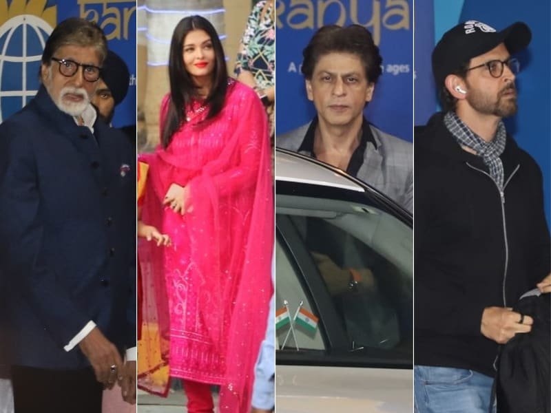 Amitabh Bachchan, Shah Rukh Khan And Hrithik Roshan Attend Abhishek-Aishwarya Rai Bachchan's Daughter Aaradhya's Annual Day Event