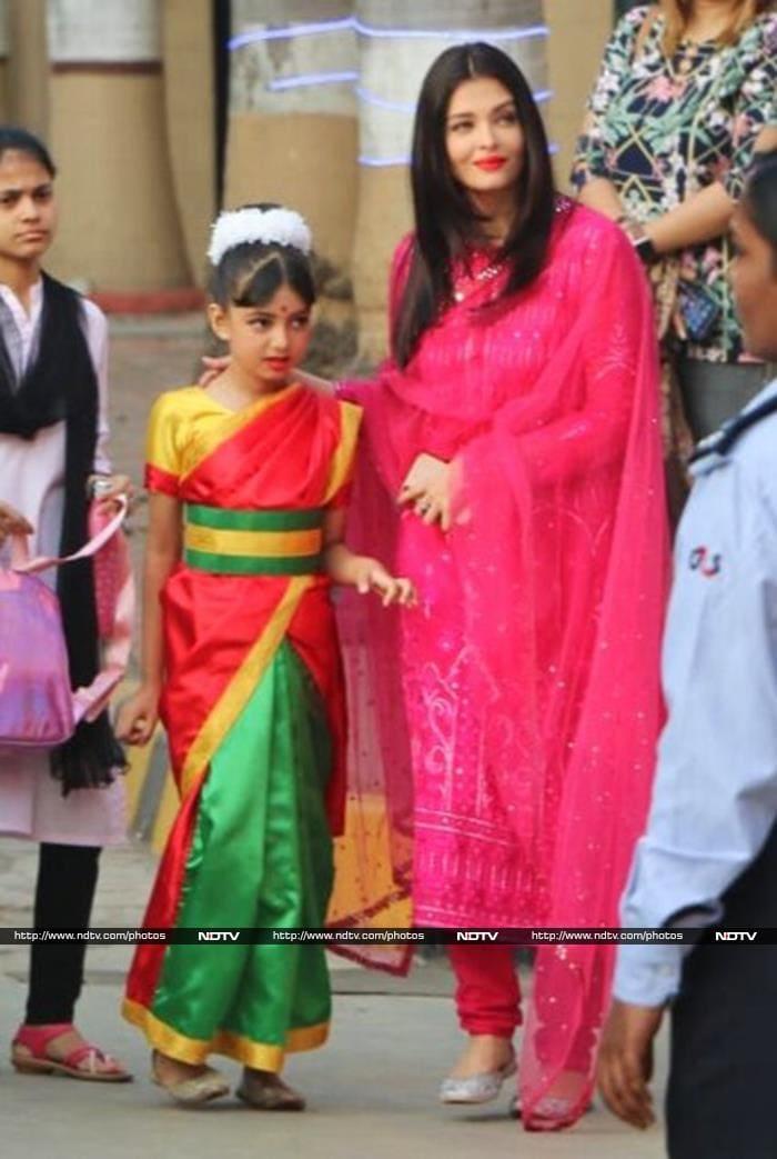 Amitabh Bachchan, Shah Rukh Khan And Hrithik Roshan Attend Abhishek-Aishwarya Rai Bachchan\'s Daughter Aaradhya\'s Annual Day Event