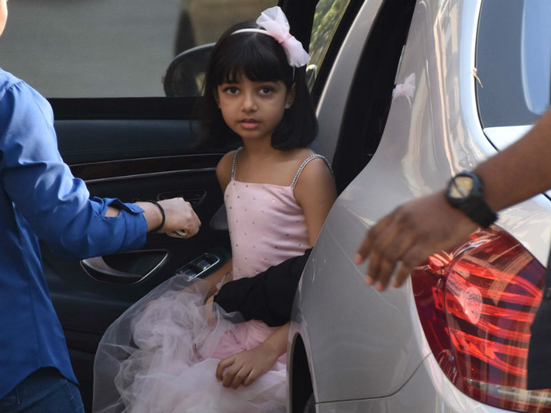 Inside Aaradhya, Shahraan And Iqra's Sunday Outings