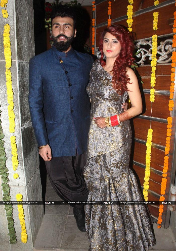 Aarya Babbar and Jasmine Puri\'s Wedding Album