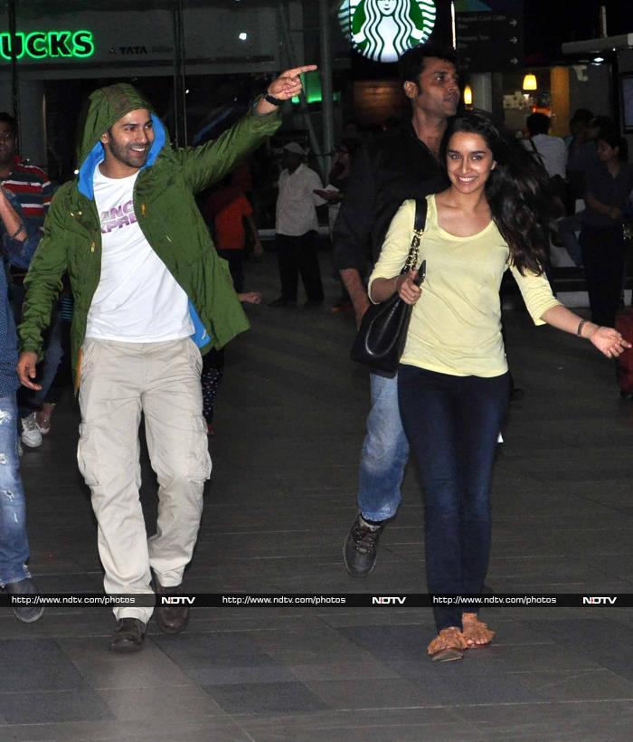 Divided by Films, United at Airport: Salman Khan, Shraddha-Varun, Akshay
