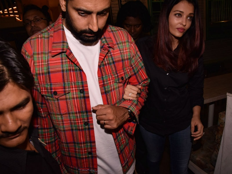 Abhishek And Aishwarya Give Couple Goals At A Party