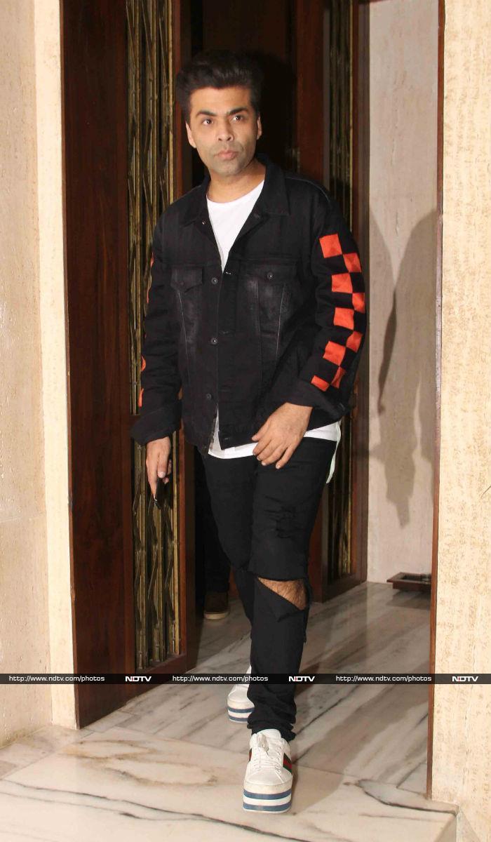 Aishwarya Rai And Abhishek Bachchan Party With Karan Johar