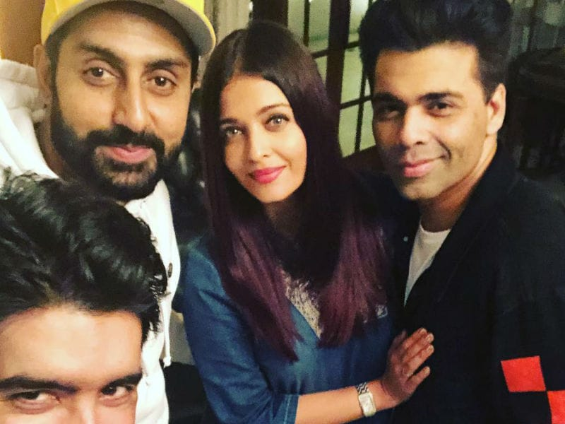 Aishwarya Rai And Abhishek Bachchan Party With Karan Johar