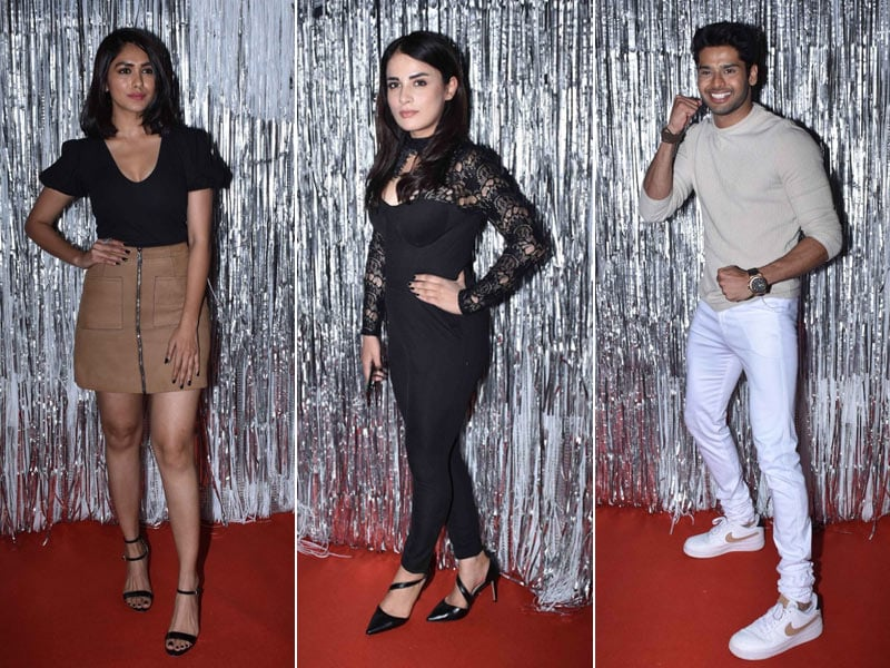 Radhika Madan and Mrunal Thakur At Abhimanyu Dassani's Birthday Bash