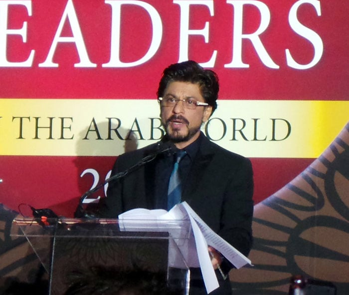 Shah Rukh is Forbes\' Top Indian Leader in Arab World