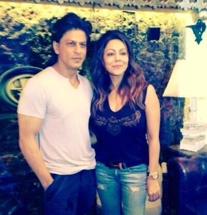 \'Designed\' for each other: SRK, Gauri