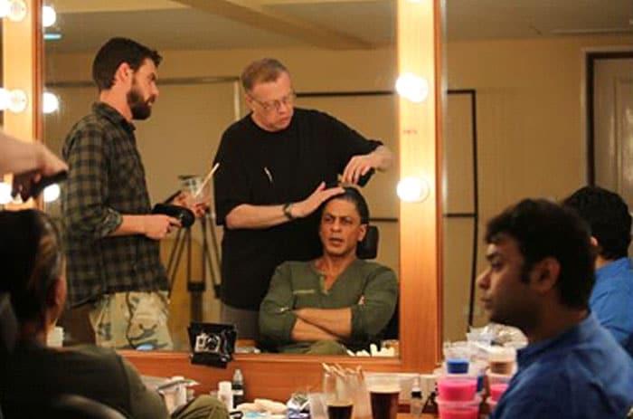 Inside Shah Rukh Khan\'s make-up room