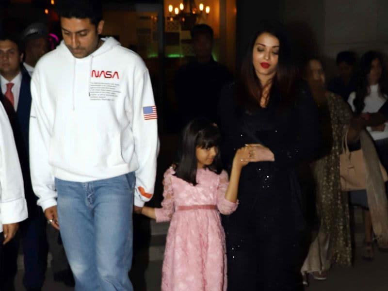 Abhishek Bachchan Celebrates Birthday With Aishwarya, Aaradhya, Big B