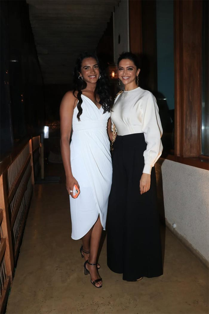 About Last Night: Deepika Met PV Sindhu; Kim And Leander Went On A Date