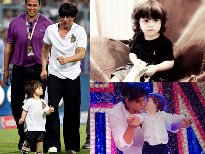 SRK's Son AbRam is Two: 10 Pics of the Cutest Khan