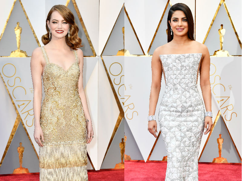 Oscars 2017 Red Carpet: Emma Stone, Priyanka Chopra Are Winning Hearts