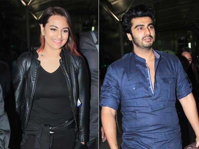 An Evening Full of Tevar With Sonakshi, Arjun