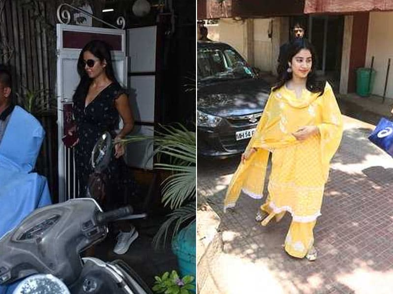 A Day In The Lives Of Katrina Kaif And Janhvi Kapoor
