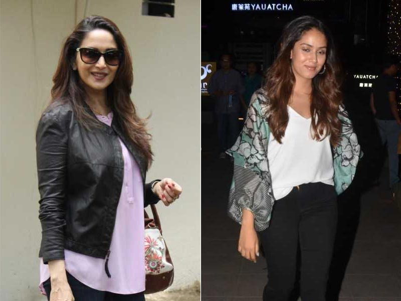 A Day In The Lives Of Madhuri Dixit And Mira Rajput