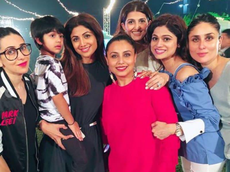 Kareena, Karisma, Shilpa, Rani: Bollywood Moms At Adira's Birthday Party